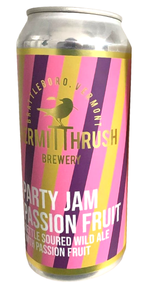 Party Jam Passion Fruit by Hermit Thrush Brewery